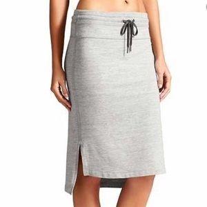 Athleta Bay View Skirt - Grey - Size Large